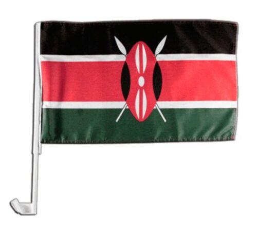 Kenia Autofahne Autoflagge Fahnen Auto Flaggen 30x40cm