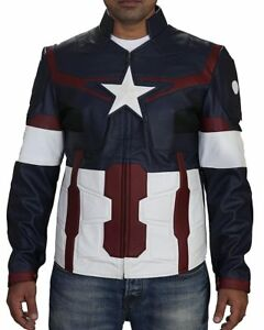 2e9ecf915cb07 Free postage. Image is loading Captain-America-Avengers -Age-of-Ultron-Steve-Rogers-