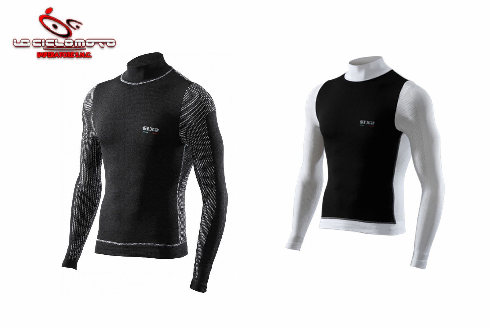 MAGLIA INTIMO hommes LUPETTO SIXS ANTIVENTO BICI MOTO SCI FonctionneHommest TS4 INVERNALE
