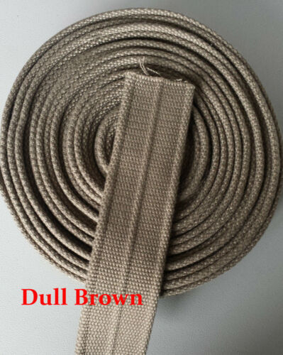 "38mm 1.5/"" Canvas strong Cotton 3.5mm Thick Webbing Belt Fabric Strap DIY Bag-NUL"