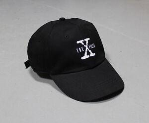 X-Files-Glow-in-the-Dark-6-panel-cap-hat-strapback-snapback-malcolm-NEW