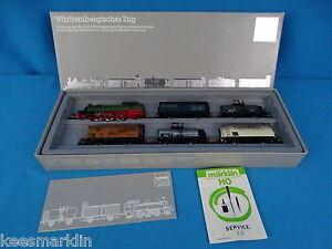 Marklin-2857-Tain-set-034-Wurttemburg-Goods-Train-034-Marklin-125-Years-set-1984