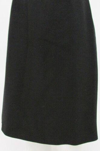 Wool Rena Woman Lange Black Matita dritte Gonna Taglia Blend Linee classica qxSCHTx