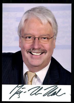 Politik Klug Jörg Uwe Hahn Autogrammkarte Original Signiert ## 37458 Dauerhafte Modellierung