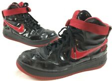 6bac358cabbe 2002 Nike Air Force 1 High Sheed Rose Garden SZ 13 Black Red Basketball  Classic