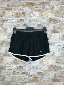 Nike-Vintage-Retro-Schwarz-Athletic-Running-Sprinter-Shorts-Unisex-Groesse-Small