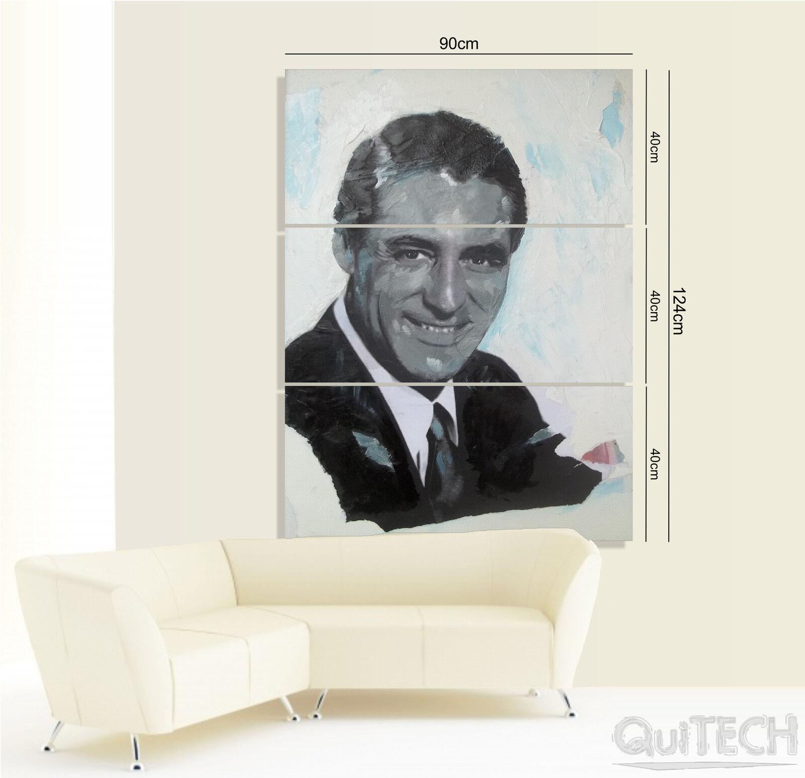 Gianfranco Alessio - Quadro Cary Grant - Quadro - stampa su Tela Riproduzioni d70e6f