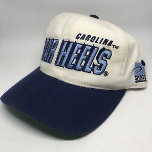 Vintage UNC Tar Heels Snapback Hat Cap Sports Specialties 90s VTG ... 96cb24571d0