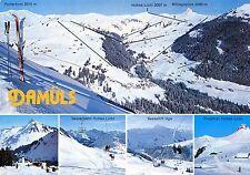Alte Postkarte - Damüls