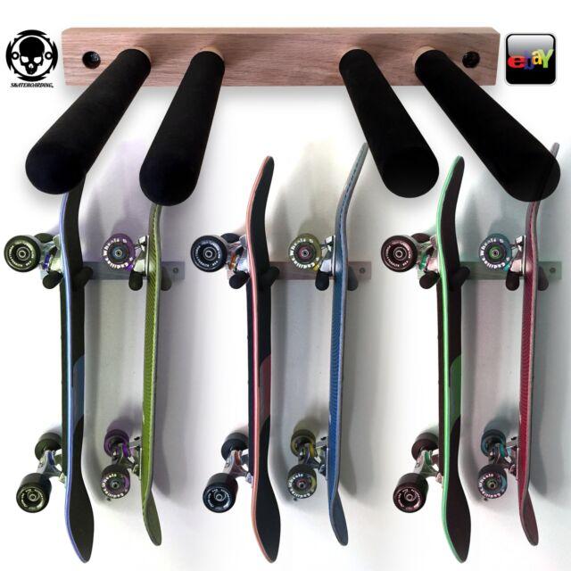 Vertical Skateboard WALL RACK Storage Mount Hanger Powell Santa Cruz  Caballero