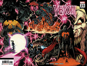 VENOM-25-RYAN-STEGMAN-2nd-PRINT-NM-1st-Codex-VARIANT-1st-VIRUS-MARVEL-KNULL