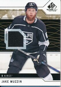 2018-19-SP-Game-Used-59-Jake-Muzzin-Gold-Jersey-Base-Parallel
