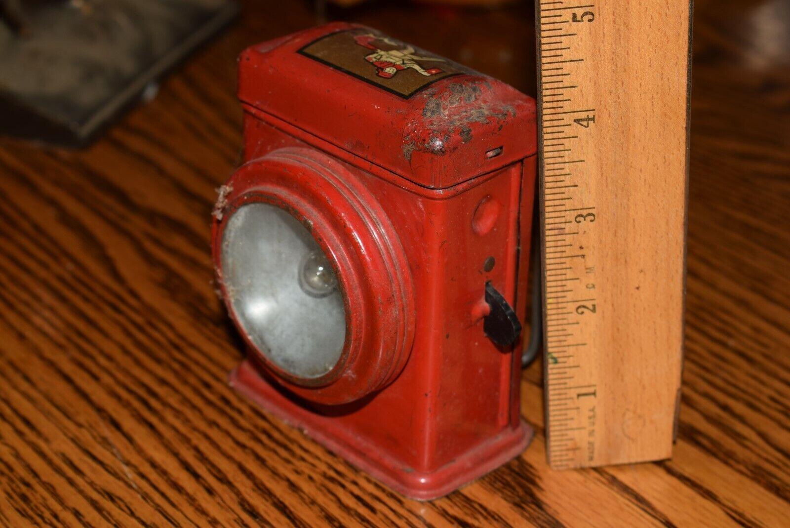 clásico atemporal Juguete Vintage Pioneer Linterna Linterna Linterna Linterna Rojo  ventas en linea