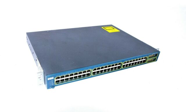 Cisco Catalizador Sistemas 2950 WS-C2950G-48-EI Series 24-port Red Interruptor
