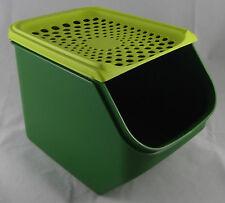 TUPPERWARE a 168 cuscinetti di cipolle CIPOLLA magazzino box 5,5 L Verde/Verde Chiaro Nuovo OVP