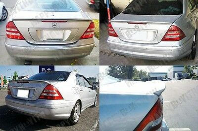 01-07 UNPAINTED MERCEDES BENZ W203 SEDAN AMG type TRUNK SPOILER C32 C55 AMG