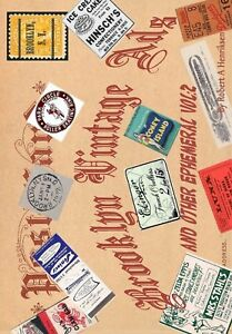 Brooklyn Vintage Ads And Other Ephemeral Vol 2 (Color)