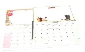 1 X 2019 Hanging Wiro Memo Board Wall Calendar Family Home Planner + Pen 5013922033624