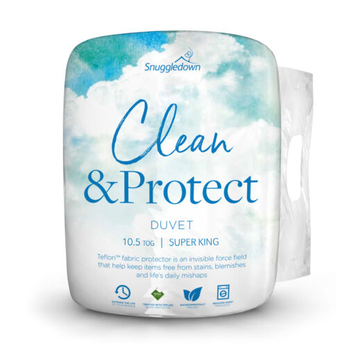 Snuggledown Clean & Protect Teflon Liquid and Stain Repellant Duvet