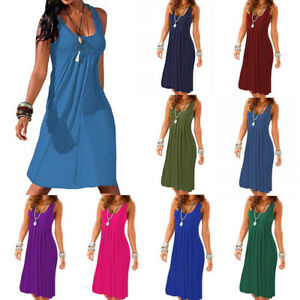 Women-Loose-Vest-A-Line-Midi-Dress-Sleeveless-Casual-Summer-Sundress-Plus-Size