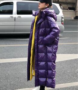 coton longues Jd fr capuche Manteau pour d'hiver manches oversize chaud à Slim en ouaté à femmes 1xp16n4