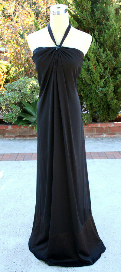 NWT Max and Cleo  schwarz Formal Evening Party Gown 4