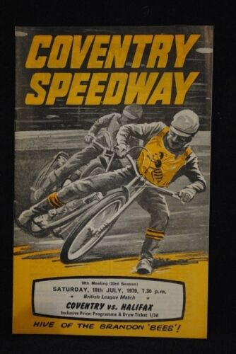 SPEEDWAY Coventry v Halifax 18 Jul 1970