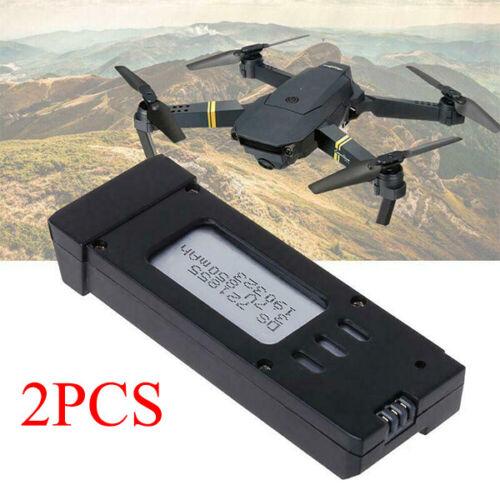 2PCS Quality 3.7V 850mAh Lipo Battery for Eachine E58 L800 JY019 S168 RC Drone