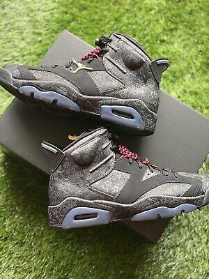 Air Jordan 6 Retro 'Singles Day' Sneakers, Black - Size 8.5 DB9818-001 194499672869 | eBay