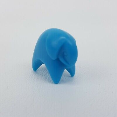Parcheesi 2001 Blue Elephant Animal Pawn Token Replacement Game Part Piece