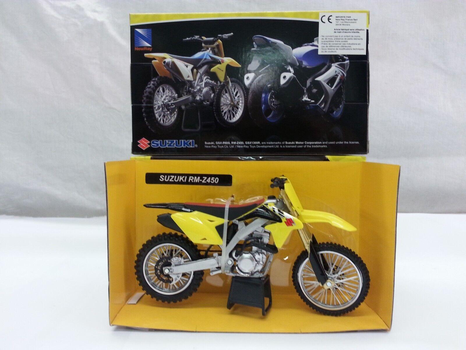 Scala 1//12 Modelli a Scala Moto Suzuki RM-Z 450 Nuovo Ray Pronti Veicolo 49.473