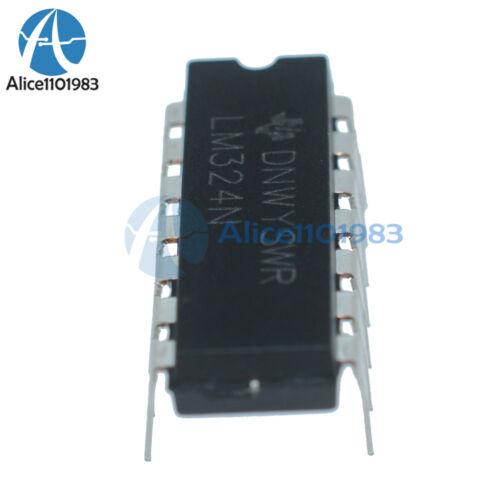 10Pcs LM324N LM324 324 Low Power Quad Op-Amp IC TOP