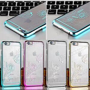 nouveaute-De-luxe-Fine-Transparent-Clair-Chrome-Dur-De-Dos-etui-pour-iPhone-6s