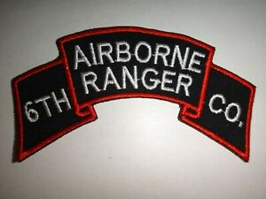 US-Army-Scroll-Patch-6th-RANGER-INFANTRY-COMPANY-AIRBORNE-Circa-1950-51