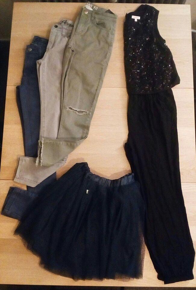 Blandet tøj, Bukser, nederdel og buksedragt