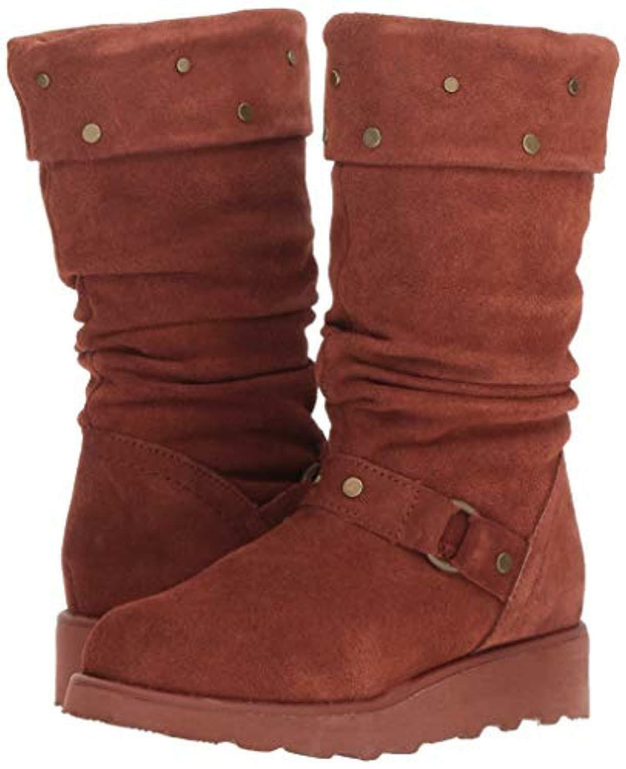 Bearpaw Eureka Youth - Kids' Tall bota -  Russet - 2 M US Little Kid