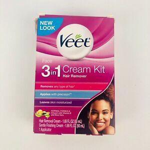 Veet 3 In 1 Face Cream Hair Remover Kit Exp 04 2021 62200871590 Ebay