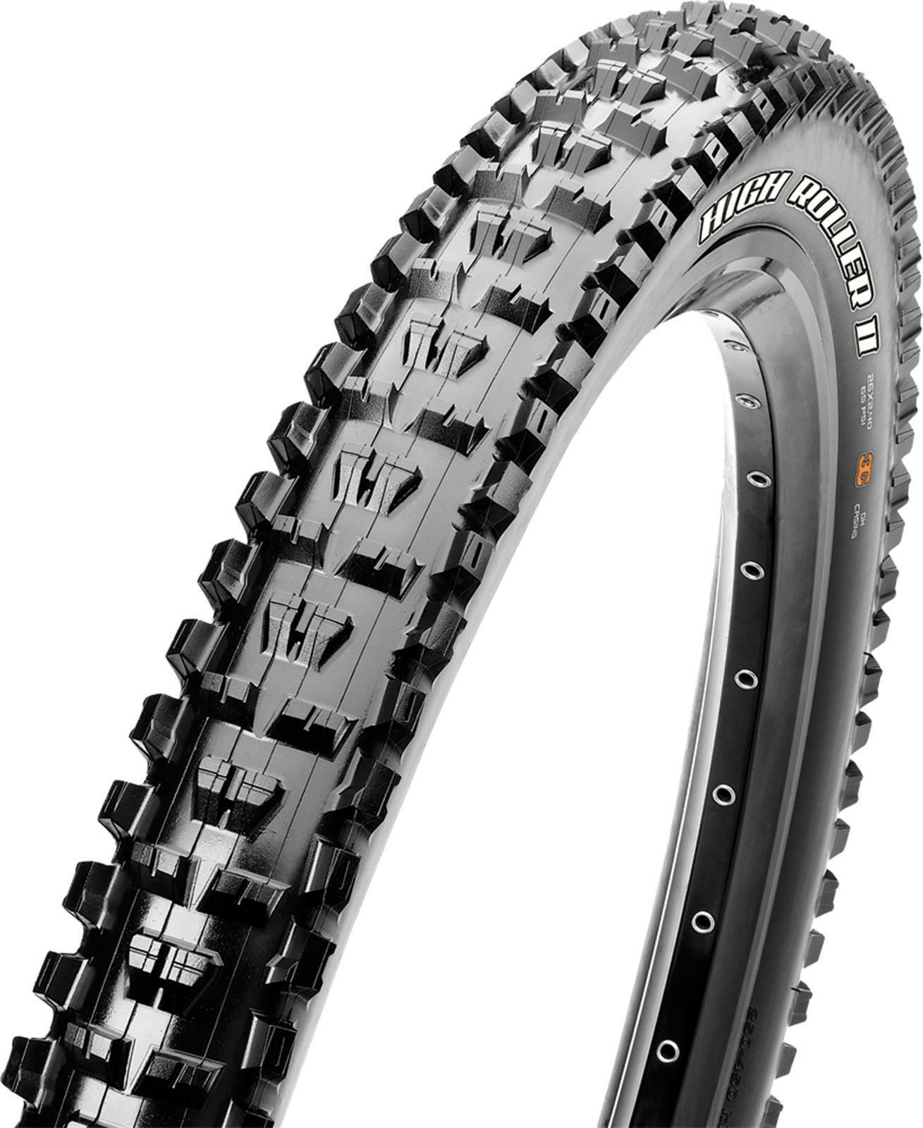 MAXXIS HIGH ROLLER II 26X2.40 WIRE SINGLE CMPD DH TB74177200