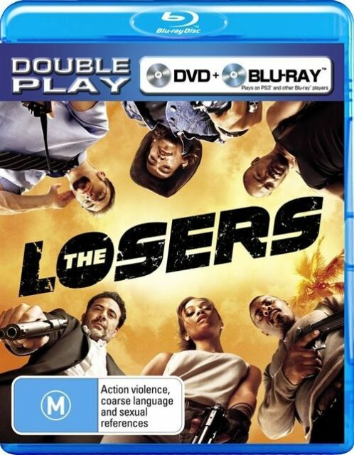 The Losers (Blu-ray, 2010, 2-Disc Set)