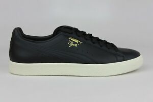 1a0819f940a PUMA CLYDE NATURAL BLACK 363617-01 MENS SHOES SIZE   BRAND NEW MEN ...