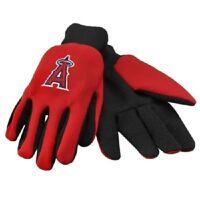 Anaheim Angels Red Black Team Logo Licensed MLB Sport Utility Gloves-Brand New!