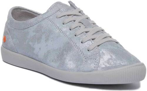 Lace Trainers Womens Isla Soft Uk 8 Size White Super 3 Softinos Up Leather 5YfqwH5x8