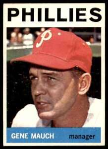 1964 Topps Gene Mauch Philadelphia Phillies #157