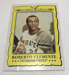 GO-19 Roberto Clemente The Great One 2021 Topps Heritage Pittsburgh PIRATES