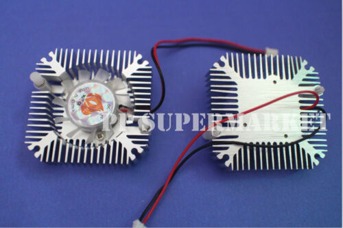 5W 10W Power Heatsink with Fan Aluminium Cooler DC12V For 5W 10W Led