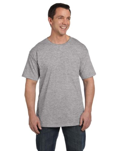 Hanes Mens Beefy T with a Pocket Tee S-3XL 5190