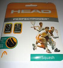 Head Perfect Power Squash String - Black