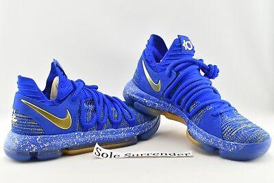quality design 28dd0 6287b Nike Zoom KD 10 Finals MVP - SIZE 9.5 - 897815-403 Celebration PE Gold X  Durant 887231491575 | eBay