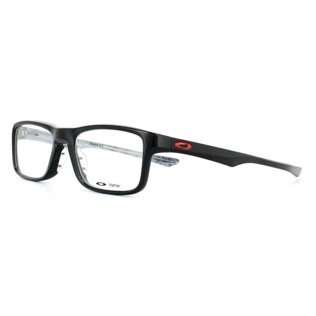 f020797047c9 Oakley Glasses Frames Plank 2.0 Ox8081-02 Polished Black 51mm Mens ...
