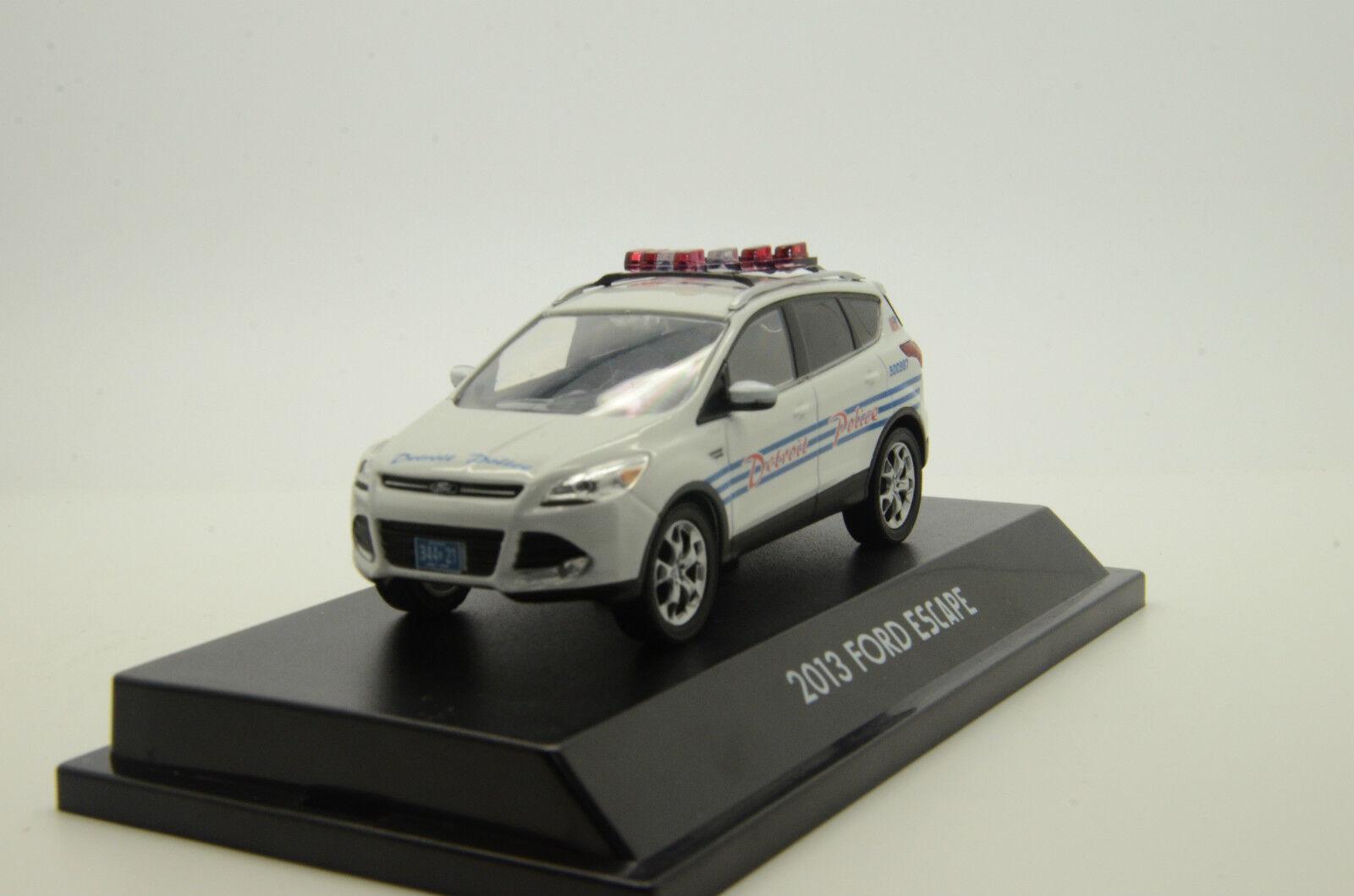 Rare    Ford Escape Detroit Police Custom Made 1 43